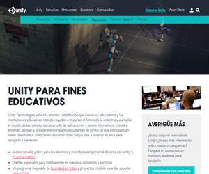 Unity para educación. Desarrollo de aplicaciones y juegos interactivos.