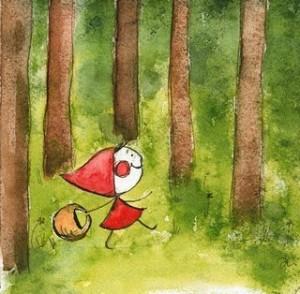 Little Red Riding Hood, un cuento y un juego de caperucita roja en inglés ( British Council)