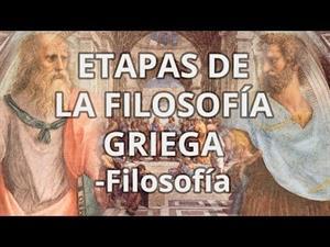 Etapas de la Filosofía Griega