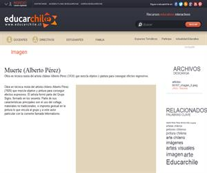 Muerte (Alberto Pérez) (Educarchile)