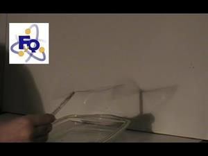 Experimentos de Física: Ondas estacionarias de jabón
