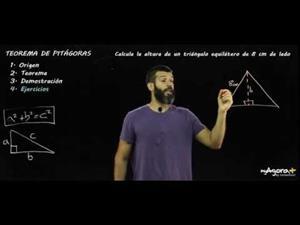 Teorema de Pitágoras (Parte 5: Ejercicio I)