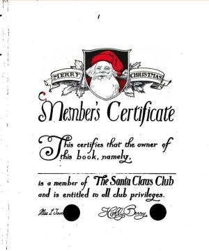 The Santa Claus club (International Children's Digital Library)