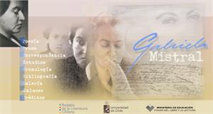 Gabriela Mistral. Retablo de literatura chilena