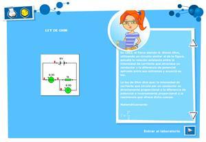 Ley de Ohm. Física y Química para 3º de Secundaria