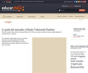 La perla del mercader (Alfredo Valenzuela Puelma) (Educarchile)