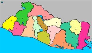 Mapa interactivo de El Salvador: provincias y capitales (luventicus.org)