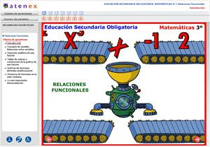 Relaciones funcionales. Matemáticas 3º Secundaria