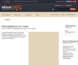 Municipalidad de Las Condes (Educarchile)