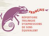 1000 imágenes en la punta de la lengua,  expresiones idiomáticas en francés, inglés y español