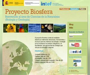 Proyecto Biosfera, herramientas y recursos para Biología y Geología