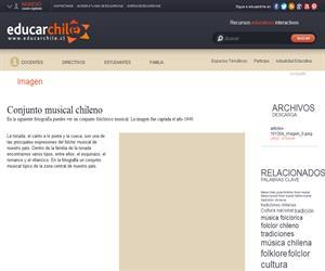 Conjunto musical chileno (Educarchile)