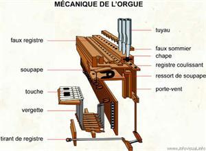 Mécanique de l'orgue (Dictionnaire Visuel)