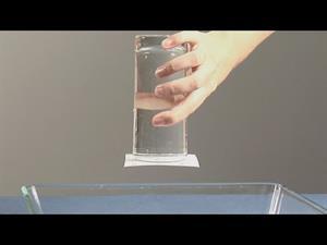 El agua que no cae. Experimentos de ciencia para niños