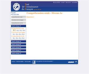 Compréhension orale - Niveau A1. Ejercicio de comprensión oral de francés (Editions Didier)