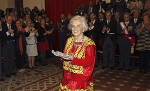 Discurso de Poniatowska al recoger el Premio Cervantes 2013