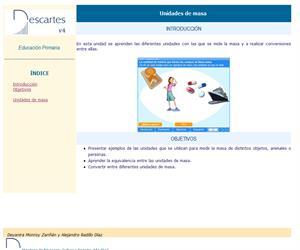 Unidades de masa (Descartes)