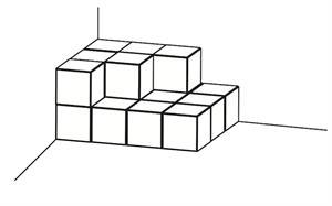 Pregunta liberada TIMSS-PIRLS de matemáticas sobre sumas. Problemas de formas y mediciones geométricas VI.