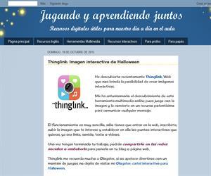 Thinglink: Imagen interactiva de Halloween