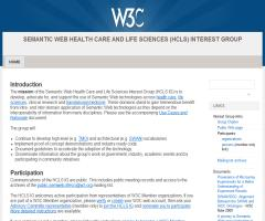 Semantic Web Health Care and Life Sciences (HCLS) Interest Group