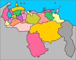 Mapa interactivo de Venezuela: estados y capitales (luventicus.org)