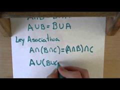 21 Teoria de Conjuntas || Ley conmutativa y asociativa