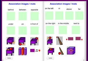 Prepositions of Place: Interactive Book