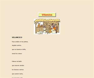Villancico (Lope de Vega), lectura comprensiva interactiva