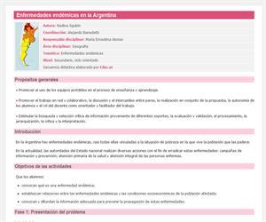 Enfermedades endémicas en la Argentina