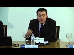 """Miguel Zugaza, Director del Museo del Prado y Ricardo A. Maturana, CEO y Fundador GNOSS dialogan en ForoTech 2016 sobre el proyecto """"El Prado en la Web: la transformación digital de un museo"""". Bilbao, 10 marzo 2016"""
