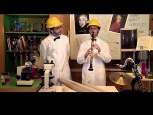 El experimento de los tubos. La escala musical