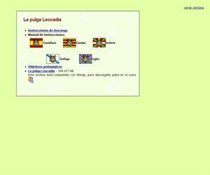 Un juego didáctico: La Pulga Leocadia