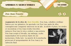 Amores y seductores en el teatro. Don Juan Tenorio, La Celestina y otros clásicos