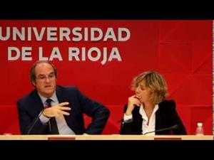 """Conferencia de Ángel Gabilondo en la Universidad de La Rioja. """"Lo Social como espacio y los Seres Horizonte"""""""