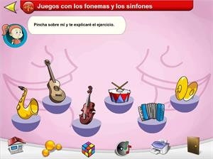 Juegos con los fonemas y los sinfones. Los fonemas y los sinfones para Educación Especial