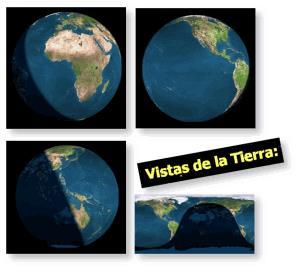 Vistas de la tierra (Actividades JClic)