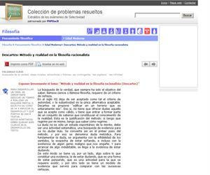 Descartes: Método y realidad en la filosofía racionalista. (Selectividad.tv)