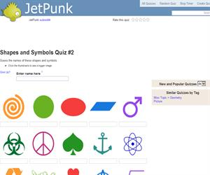 Shapes and Symbols Quiz 2