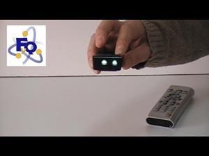 Experimentos de Física (infrarrojos): ¿Un rayo invisible?