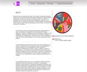Peonza: revista de literatura infantil y juvenil de Cantabria