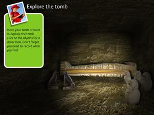 Egyptian tomb adventure (National Museums Scotland)