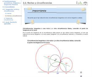 Rectas y circunferencias (EnclicloAbierta)