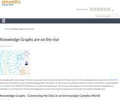 Los Grafos de Conocimiento en la cumbre de las tecnologías emergentes de Gartner 2018