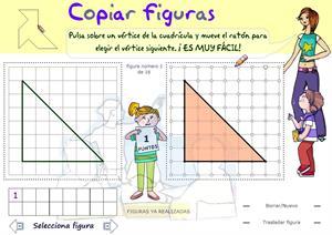 Copiar figuras geométricas planas (didactmaticprimaria.com)