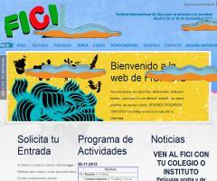 FICI, Festival Internacional de Cine para la Infancia y la Juventud (Madrid, 26-30 de noviembre de 2012)