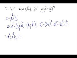 Propiedad de los números complejos