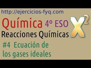 Ecuación de los gases ideales. Cibermatex