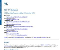 RDF 1.1 Semantics