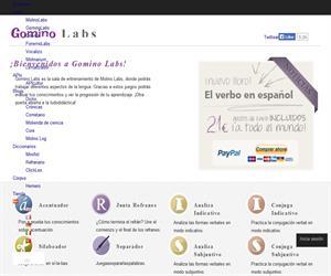 Gomino Labs, juegos educativos para aprender Español