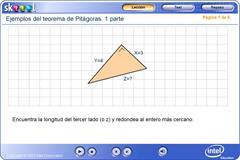 Ejemplos del teorema de Pitágoras: 1 parte (PerúEduca)